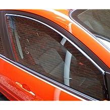 heko-31126Volkswagen Golf MK43P R32GTI GT HEKO Deflectores de viento tintados 2pcs Set