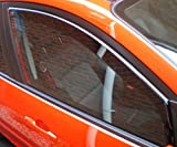 HEKO-28235 SEAT IBIZA MK5 MK V 3-Door 2009 on Team Heko Wind Deflectors Tinted