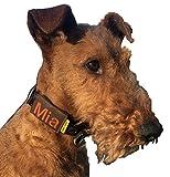 josi.li Halsbandtasche Dunkelbraun für Hundemarke