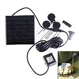 Fontaine solaire énergie solaire Pompe à fontaine à énergie solaire, Pompes à eau solaires submersibles à économie d'énergie de 7V pour Garden Pond