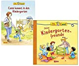 Conni kommt in den Kindergarten (Neuausgabe) (Conni-Bilderbücher) Gebundene Ausgabe und Meine Freundin Conni - Meine Kindergartenfreunde (Neuausgabe): Connis Freundebuch Gebundene Ausgabe