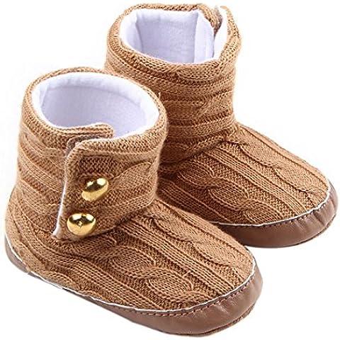 Zapatos De Bebé, RETUROM Invierno más cálido para bebé del niño del bebé botas de nieve suave únicos zapatos del prewalker del