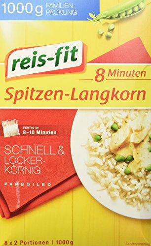 reis-fit Spitzen Langkorn 8 Minuten, 1000 g