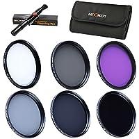 37mm Filtro Kit, K&F Concept 6pcs UV