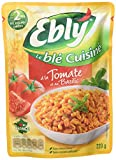 Blé EBLY Express micro-ondable 2 min à la Tomate et au Basilic 220 g...
