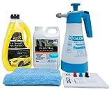 Gloria FoamMaster FM10 + ValetPro Snow Foam + Meguiars Shampoo Auswahl + Zubehör (Meguiars Ultimate...