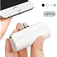 iWalk Portable Compact de 3300mAh Batterie Externe Chargeur avec Lightning Power Bank pour iPhone 5 6 7 8 Plus X Se