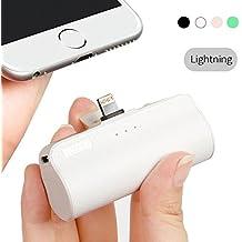Iwalk 3300mAh Portátil Compacto Incorporado Lightning Batería Externa Móvil Cargador Power Bank para Apple iPhone 5 6 7 8 Plus X SE