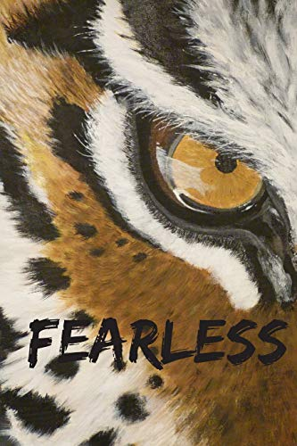 Fearless: Blank Lined Notebook - Fighting Tigers Cover