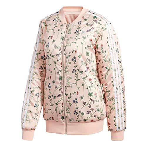 adidas AOP Bomber Jacke, Damen, Pink (rosrub) (Aop Jacke Adidas)