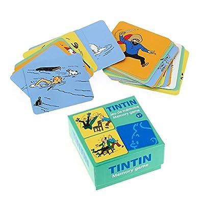 Jeux de cartes de mémoire des paires Les Aventures de Tintin V1 (51069)