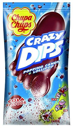 Chupa Chups Crazy Dips Cola, 6er Pack (6 x 14 g)