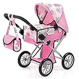 Bayer Design 13672AA Puppenwagen City Star, rosa mit Sternen