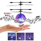 YKS Fliegender Ball, Fliegendes Spielzeug, RC Fliegender Ball, Spielzeug für Kinder und Erwachsene, Infrarot-Induktions-Hubschrauber