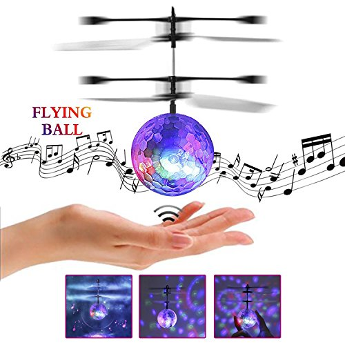 YKS Fliegendes Spielzeug, RC Fliegender Ball, Spielzeug für Jungs, Infrarot-Induktions-Hubschrauber