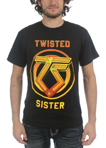 Twisted Sister - You Can't Stop Rock & Roll T-Shirt in schwarz, Medium, Black (Twisted Sister-t-shirt)
