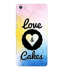 EPICCASE cake of love Mobile Back Case Cover For Huawei Honor 6 Plus (Designer Case)