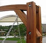 Design Hollywoodschaukel aus Lärchenholz Modell 'MERU' von AS-S - 8
