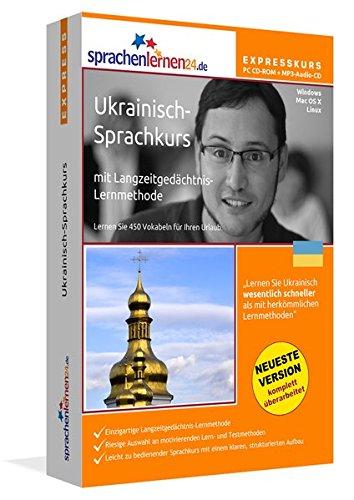 Preisvergleich Produktbild Sprachenlernen24.de Ukrainisch-Express-Sprachkurs PC CD-ROM für Windows / Linux / Mac OS X + MP3-Audio-CD: Werden Sie in wenigen Tagen fit für Ihre Reise in die Ukraine