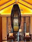 JIANFEI Kronleuchter Moderne Minimalist Kreative Pastoral Bambustee Wohnzimmer Restaurant Aisle Treppe Kronleuchter (fünf Modelle Optional) Dekoration (Stil : A)