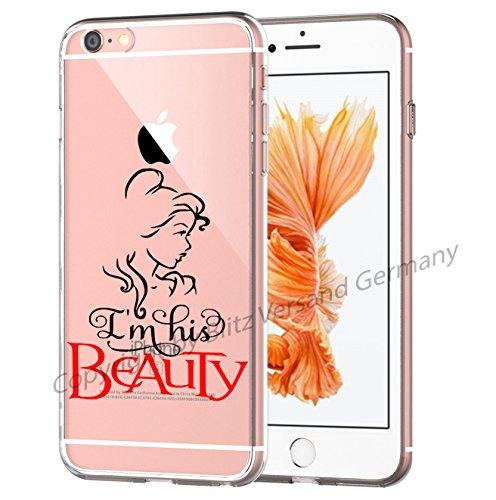 Blitz® La Beauté et la Bêtemotifs housse de protection transparent TPE SAMSUNG Galaxy M5 iPhone X M15