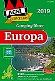 ACSI Internationaler Campingführer Europa 2019: in 2 Bänden inkl. Ermässigungskarte und ACSI Camping Europa-App Rabattcode. (Hallwag Promobil)