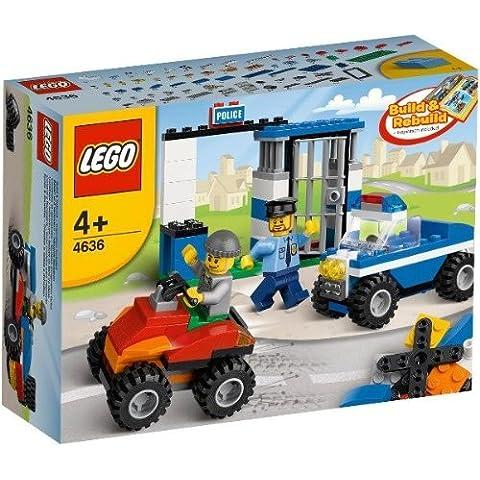 LEGO Classic 4636 - Set de Construcción de Policía