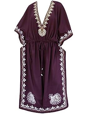 La Leela Designer lungo maxi abito da sera rayon costumi da bagno costume da bagno bikini delle donne coprire...
