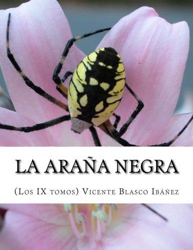 La araña negra, nueve tomos completos
