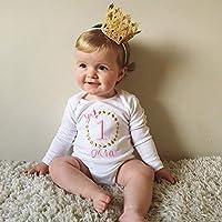 First Birthday vest - personalised Girls vest - Girls 1st birthday outfit - Cake smash
