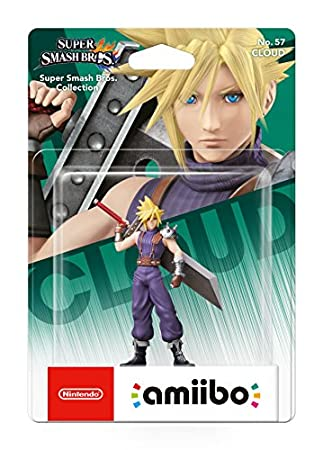 Cloud No.57 Amiibo (Nintendo Wii U)