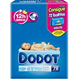 Dodot - Pañales 3-6 kg, 78 unidades