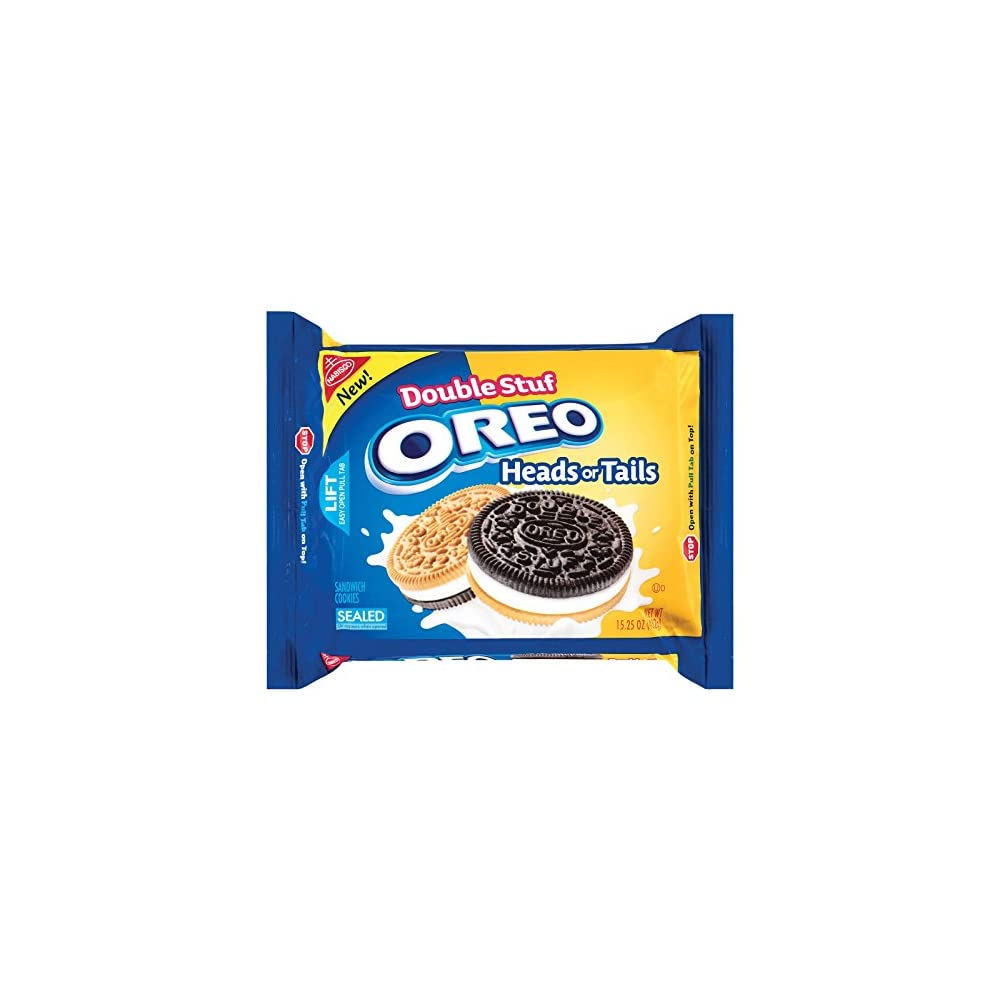 Oreo Heads Or Tails Double Stuff Cookies 432g 1er Pack