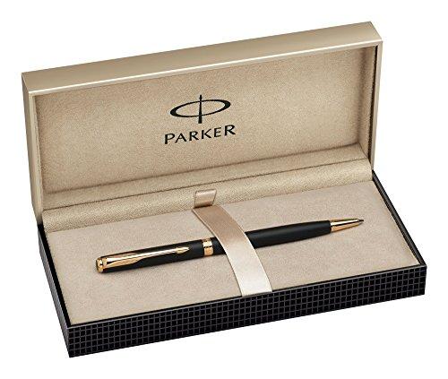 Parker S0818030 Kugelschreiber Slim Sonnet G.C, Strichbreite M, schreibfarbe schwarz