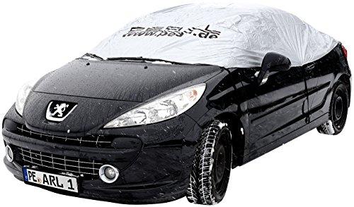 PEARL Autogarage: Premium-Auto-Halbgarage für Kompaktklasse, 290 x 140 x 45 cm (Abdeckung Auto)