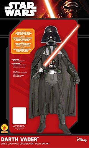 Imagen de star wars  disfraz de darth vader para niños, 5 7 años rubies 882014 m  alternativa