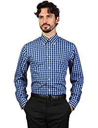Brooks Brothers Oxford Milano Fit, Chemise Casual Homme, (Navy 411), M