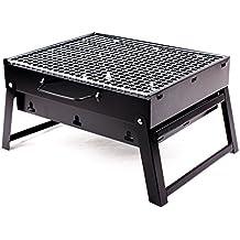 Barbecue A Carbonella Per Uso Domestico Grill, Barbecue Portatile Da Giardino, Griglia, Forno Pieghevole, Fornello Multifunzione Portatile Per Barbecue,43X29X22CM