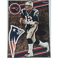 Tom Brady 2014 NFL Fathead Tradeables 5 x 7 New England Patriots - #31 by FATHEAD