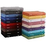 Betz Toalla de mano tamaño 50x100 cm 100% algodón toalla cara mano cuerpo PREMIUM de color turquesa