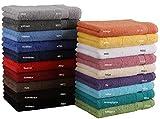 Asciugamano per ospiti Premium, misure: 30 x 50 cm, 100 % cotone Color giallo
