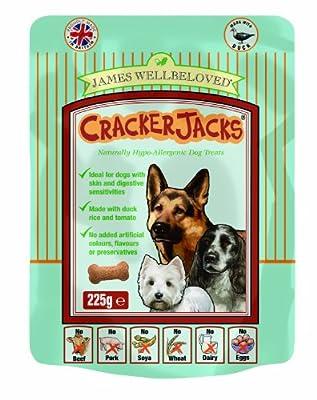 James Wellbeloved Crackerjacks Dog Treats 225 g