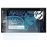 Bruni Schutzfolie für Kenwood DDX5015DAB/-5016DAB Folie - 2 x glasklare Displayschutzfolie