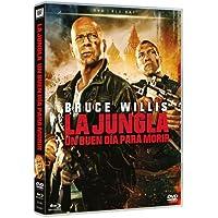 La Jungla: Un Buen Día Para Morir (DVD + BD) [DVD] (2013) Bruce Willis; Jai C