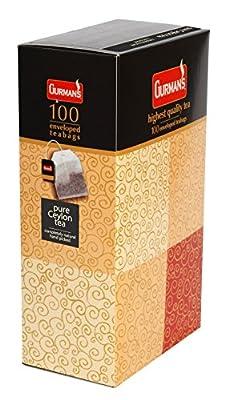 Gurman's Ceylon Sachets De Thé Noir 100 x 1.75g