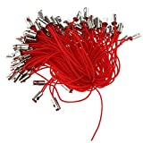 non-brand Sharplace 100 Pcs Cordones de Telefono Cuerdas Correas de Móvil Celular Pieza de Respuesto - Rojo