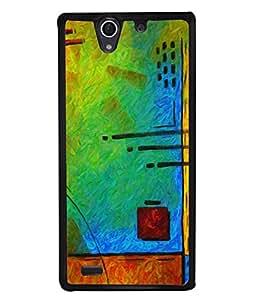 PrintVisa Designer Back Case Cover for Sony Xperia C4 Dual :: Sony Xperia C4 Dual E5333 E5343 E5363 (Modern Art Clasical Texture Oil Painting Stylish)