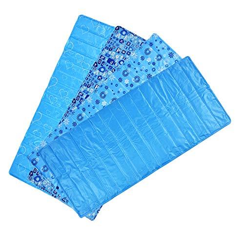 ZDJR Pet Cool Mat, selbstkühlendes Schlafgel-Körper-Pad, waschbar mit Rutschfester, wasserdichter Unterseite, Überhitzung vermeiden, ideal für Zuhause und Reisen,Letters
