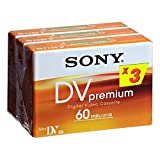 Sony Mini DV Premium 3 PK - -Schleifenband Video -