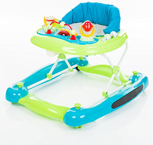 Lauflernhilfe Rock 'n' Roll 3-in-1 / Babyschaukel mit Spielcenter / Lauflerngerät / Baby Walker / Laufwagen / Lauflerner / Activity Center